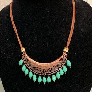 Acqua beads necklace